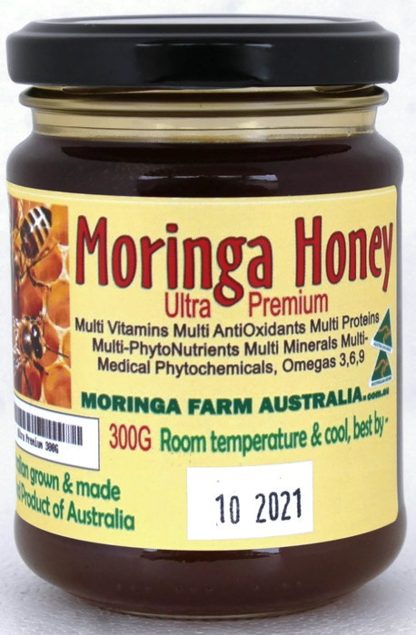 Moringa HONEY 300G ULTRA Premium. Made To Order
