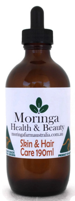 Moringa SKIN CARE Hair Care 190ml - Pure Moringa seed oil