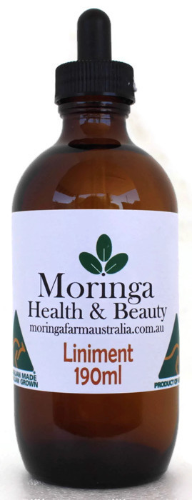 AUSTRALIAN Moringa LINIMENT 190ml - Anti-Inflammatory - athritic joints muscular ailments