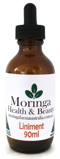 AUSTRALIAN Moringa LINIMENT 90ml - Anti-Inflammatory - athritic joints muscular ailments