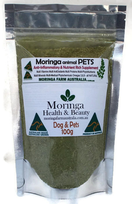 Moringa DOGS & Animal Pets 100G