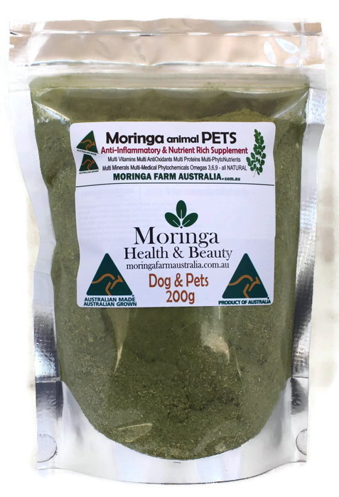 Moringa DOGS & Animal Pets 200G