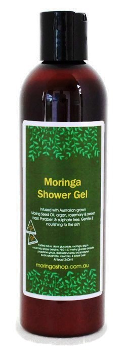 Moringa SHOWER (Bath) GEL 240ml